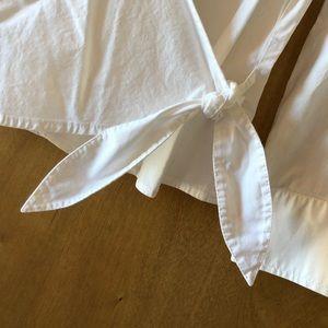Rafaella Tops - RAFAELLA  White Side Tie Blose🌹